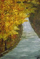 Fall Road to Nowhere... by slekawa