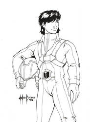 Daily Sketch 012/365: Skull Leader by ChrisMcCarver