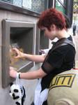 --Gaara at the ATM--