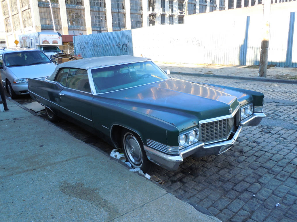 1970 Cadillac Coupe DeVille Convertible V by Brooklyn47 on