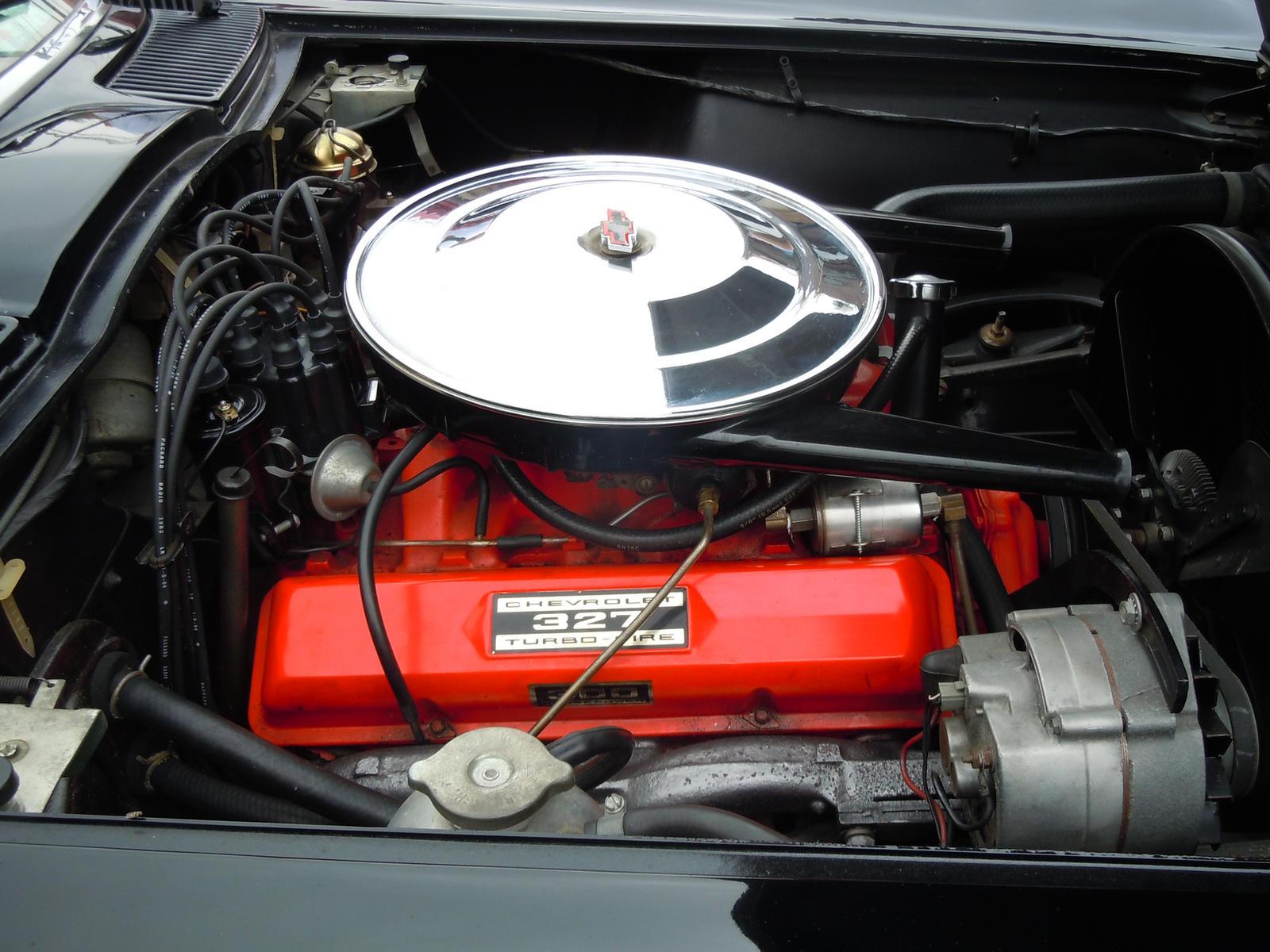 1964 chevrolet corvette 327 turbo fire engine by for Chevy truck with corvette motor