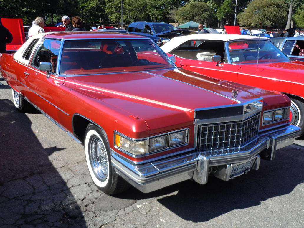1976 cadillac coupe deville ii by brooklyn47 on deviantart. Cars Review. Best American Auto & Cars Review