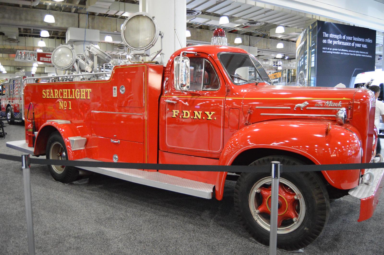 1950 To 1965 Mack Trucks : Mack b fdny searchlight truck ii by brooklyn on
