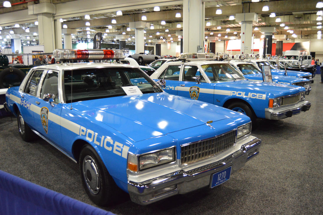 a row of classic n y p d patrol cars by brooklyn47 on deviantart. Black Bedroom Furniture Sets. Home Design Ideas