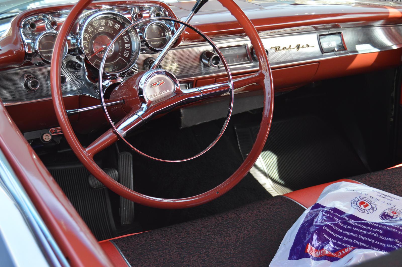 1957 Chevrolet Bel Air Interior Ii By Brooklyn47 On Deviantart