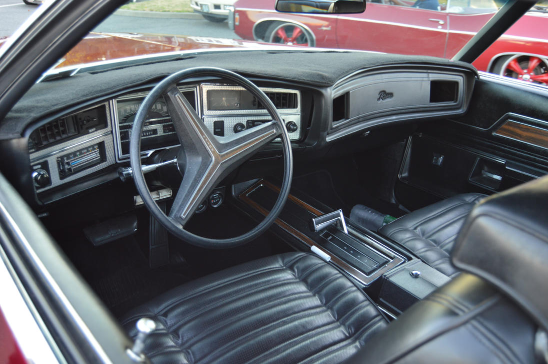 1972 Buick Boattail Riviera Interior By Brooklyn47 On