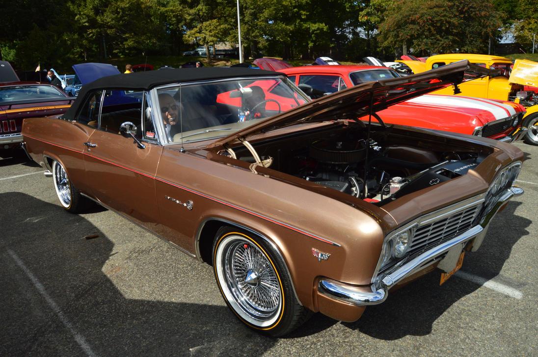 1966 Chevrolet Impala Convertible V By Brooklyn47 On Deviantart Bel Air Conv