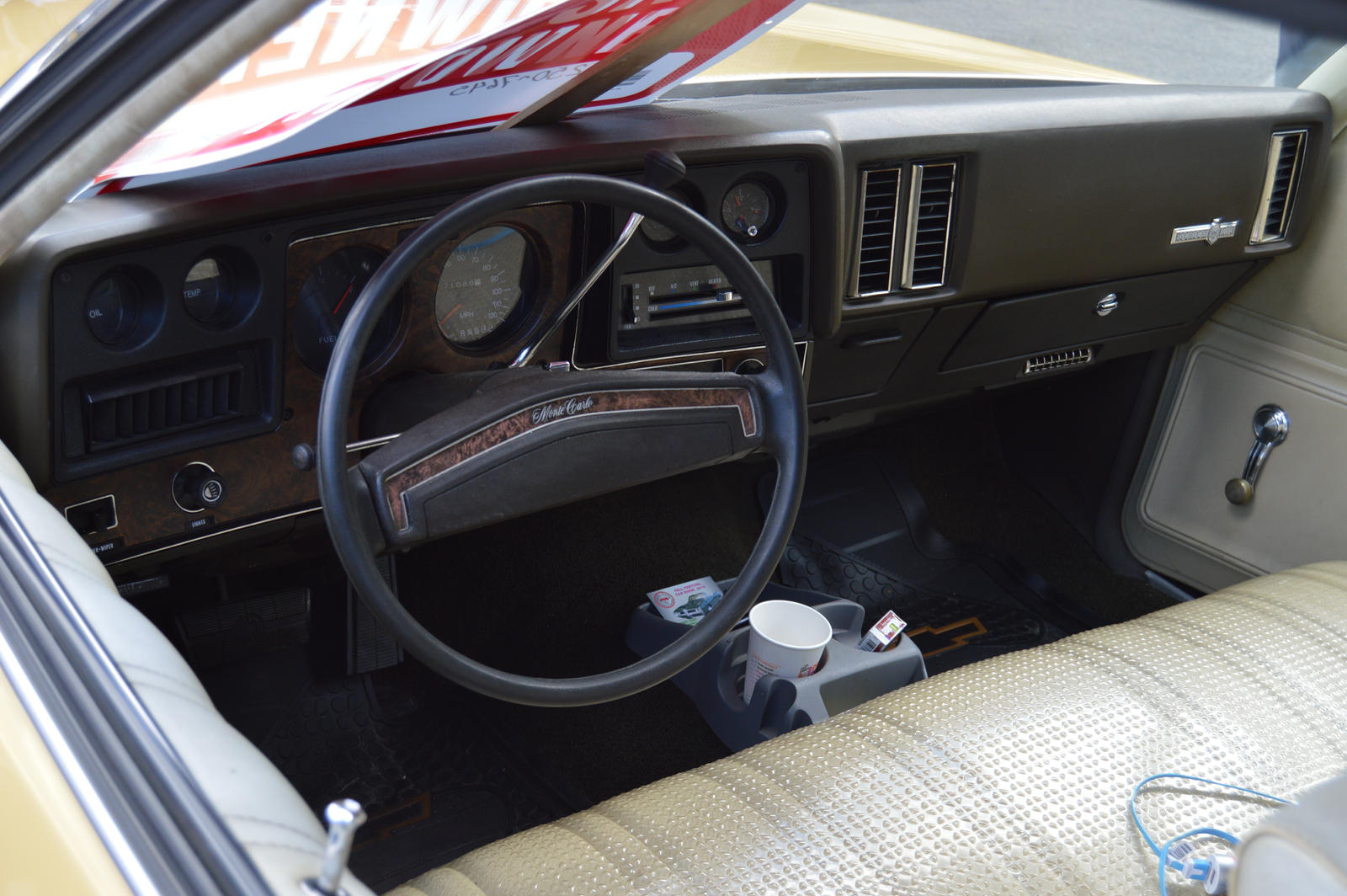 1973 Chevrolet Monte Carlo Interior by Brooklyn47 on DeviantArt
