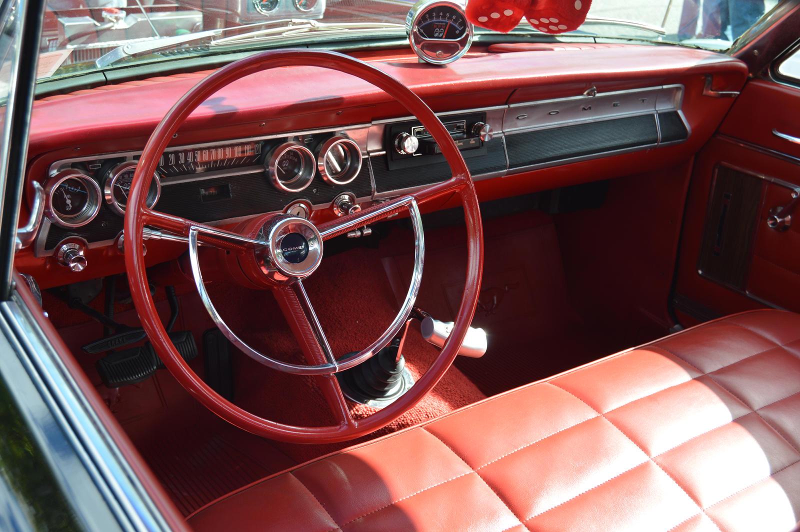 1964 Mercury Comet Interior by Brooklyn47 on DeviantArt  1964 Mercury Co...