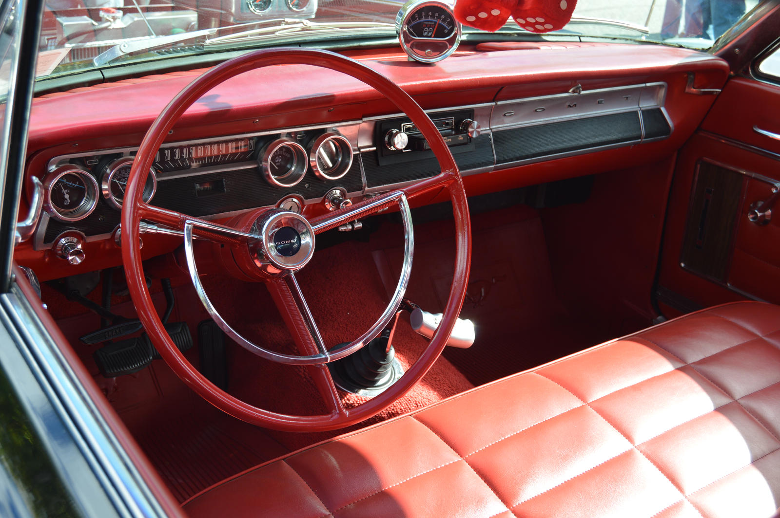 1964 Mercury Comet Interior by Brooklyn47 on DeviantArt