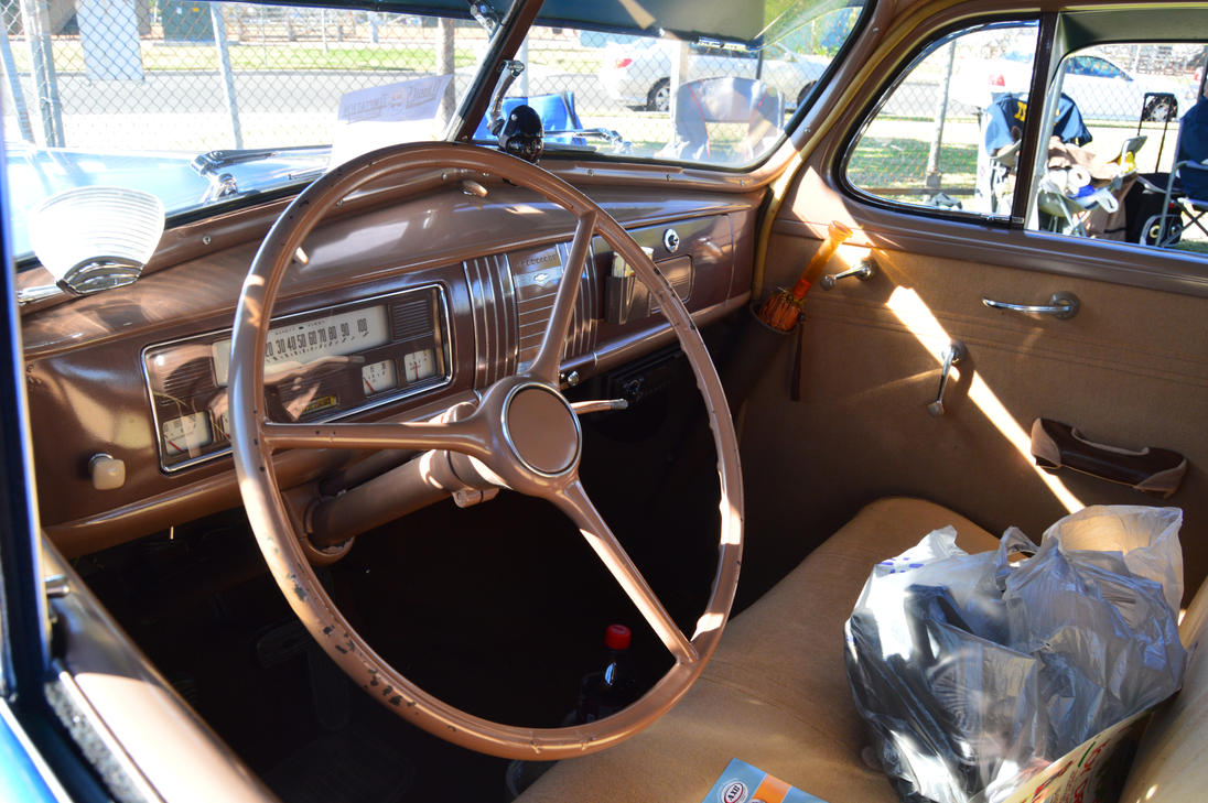 1939 Chevrolet Master Deluxe Interior By Brooklyn47 On