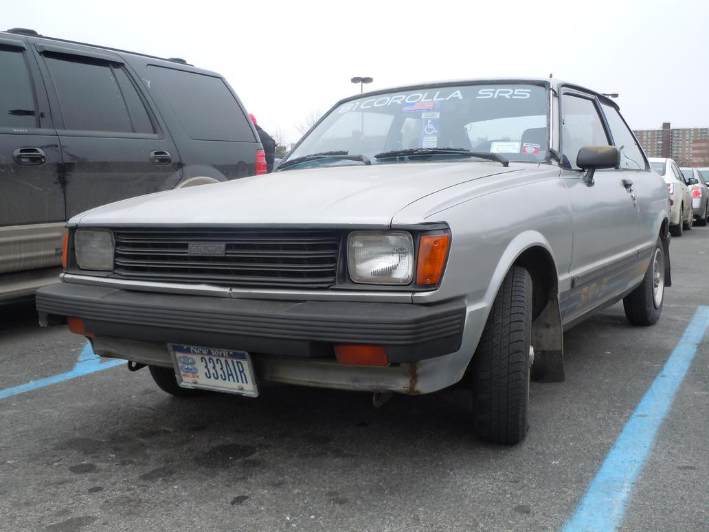 1981 Toyota Corolla Sr5 (II) by Brooklyn47