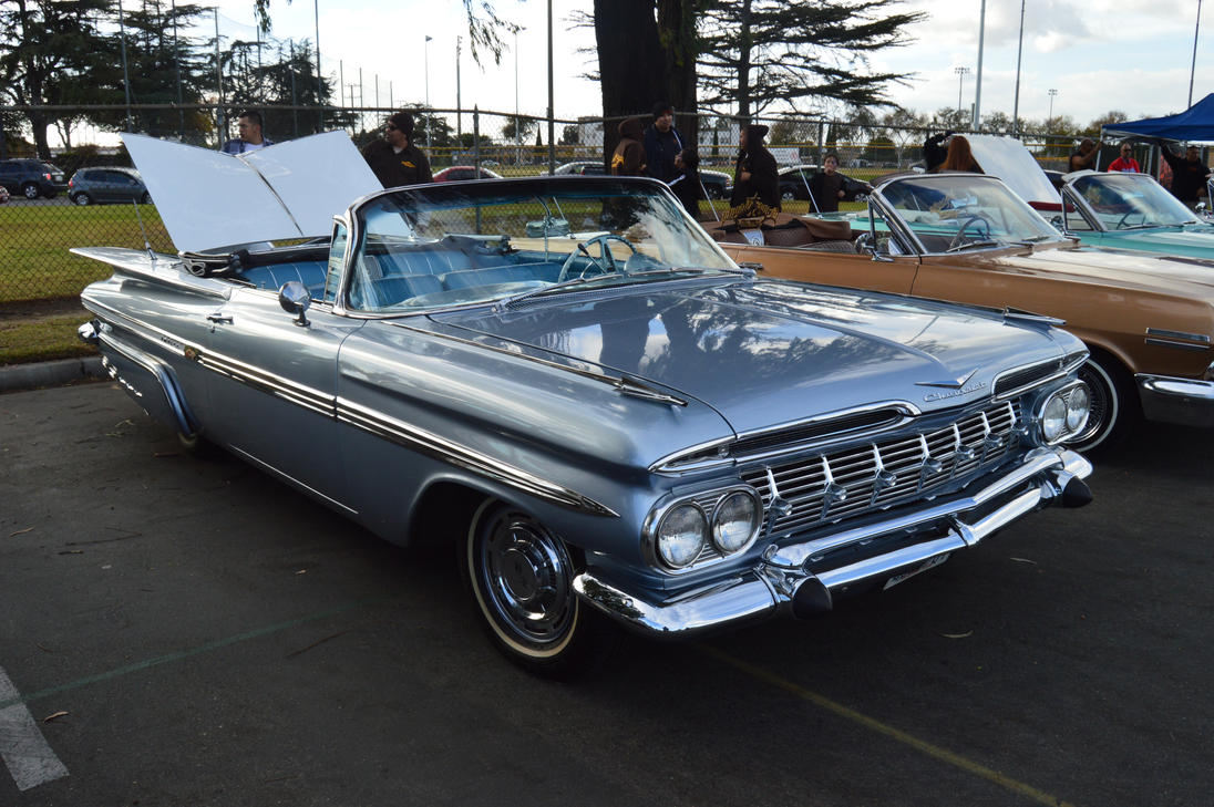 1959 chevrolet impala convertible iii by brooklyn47 on General motors convertibles