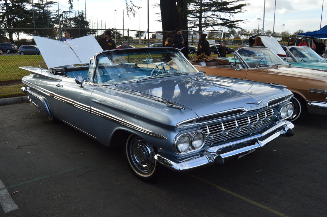 1959 Chevrolet Impala Convertible Iii By Brooklyn47 On: general motors convertibles