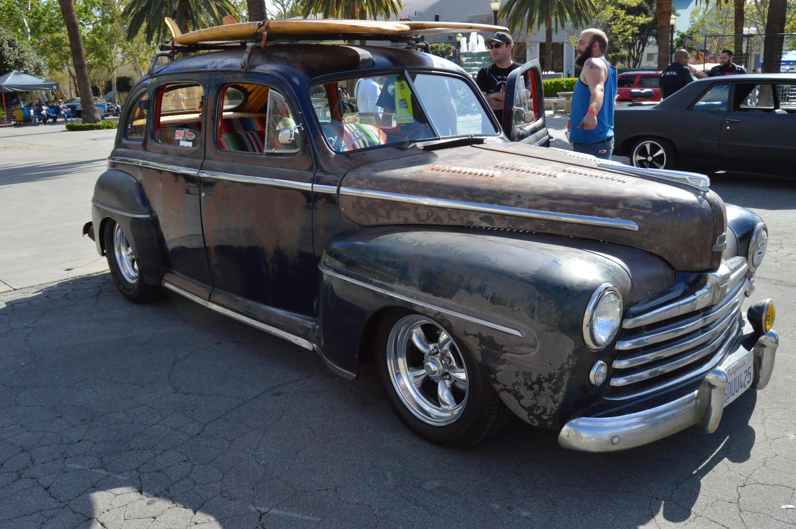 1948 ford super deluxe 4 door sedan rat rod viii by for 1948 plymouth 4 door sedan