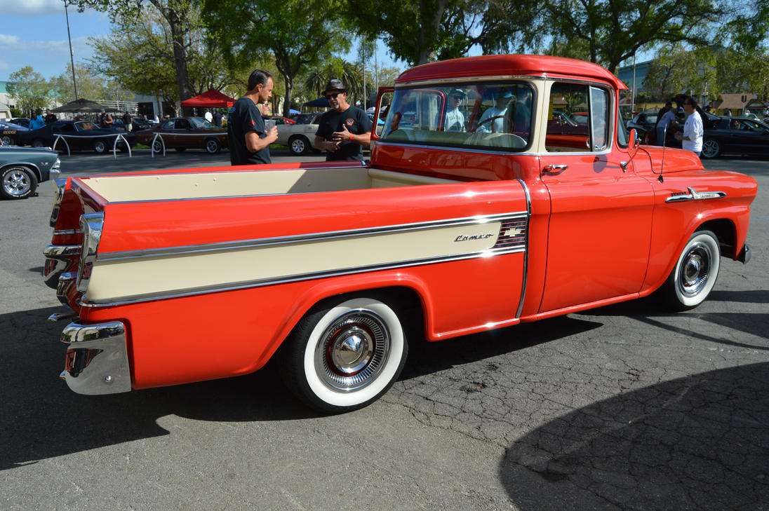 1958 Chevrolet Apache 31 Cameo Fleetside V By Brooklyn47