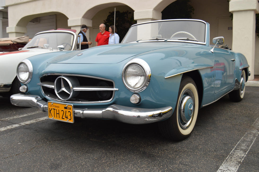 1956 mercedes benz 190sl iv by brooklyn47 on deviantart for 1956 mercedes benz 190sl