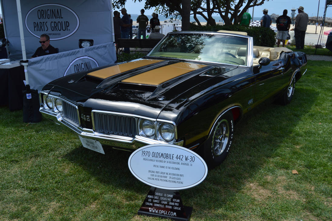 1970 Oldsmobile 442 W-30 Convertible V by Brooklyn47 on
