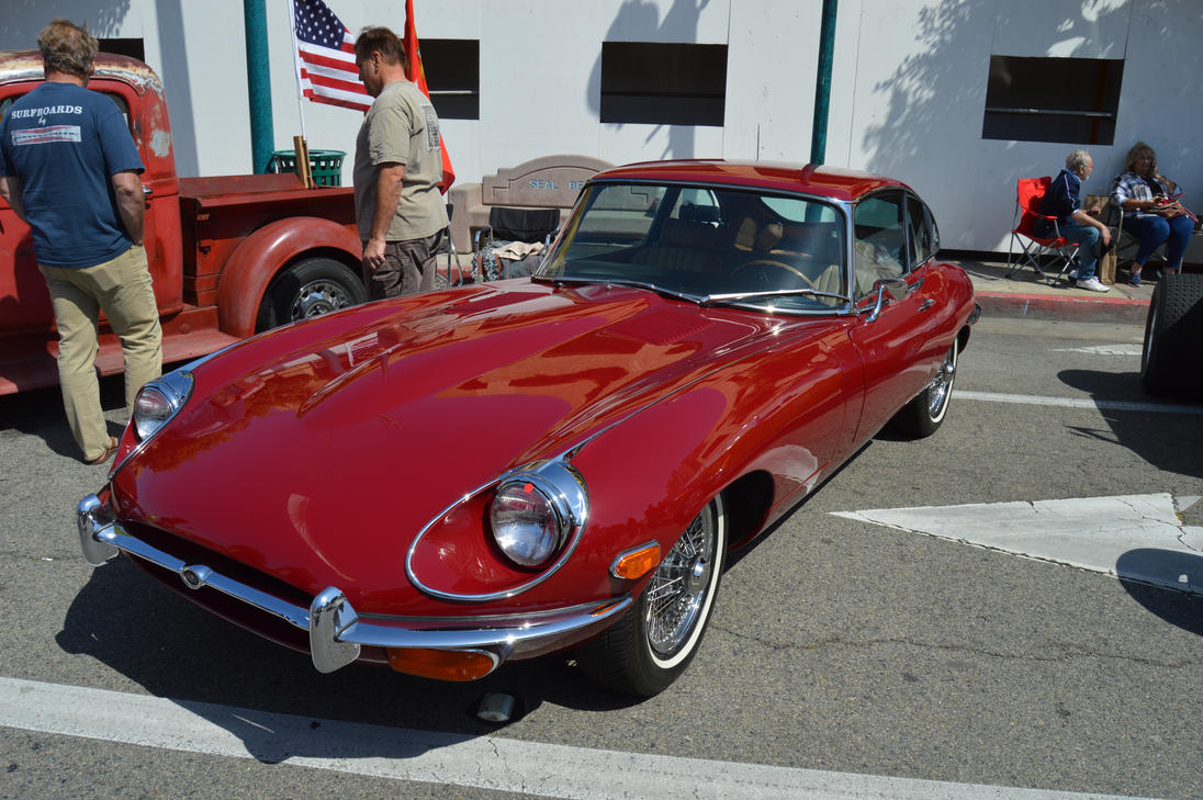 1969 Jaguar E Type VII by Brooklyn47