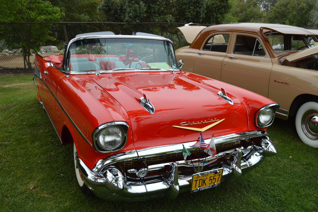 1957 Chevrolet Bel Air Convertible Vii By Brooklyn47 On Deviantart Chevy Bellaire