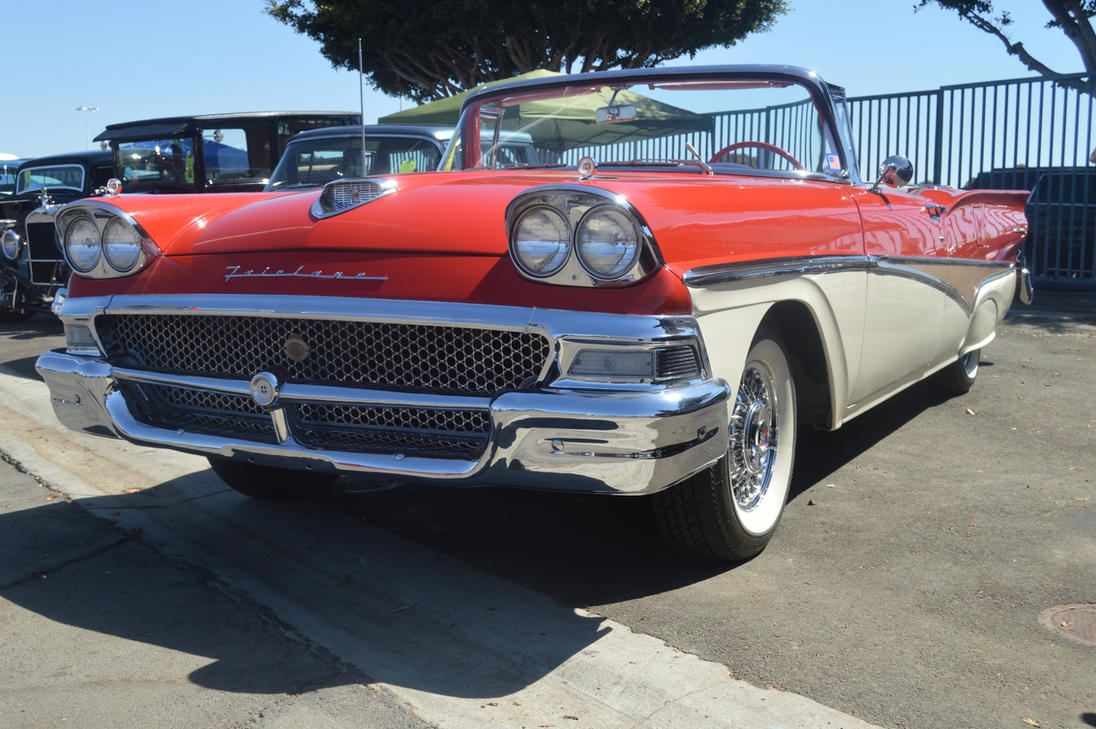 1958 Ford Fairlane 500 Convertible IX by Brooklyn47