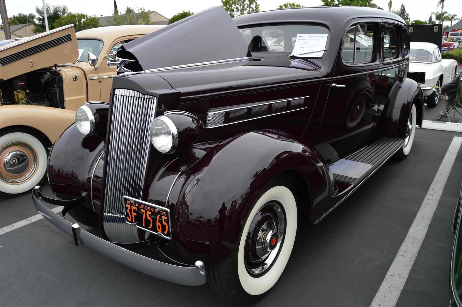 1935 Packard 120 Sedan V by Brooklyn47