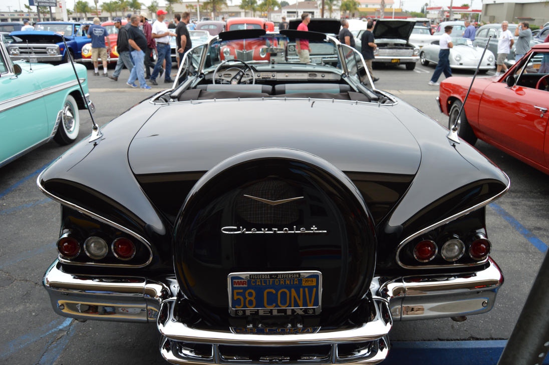 1958 Chevrolet Impala Convertible VII by Brooklyn47