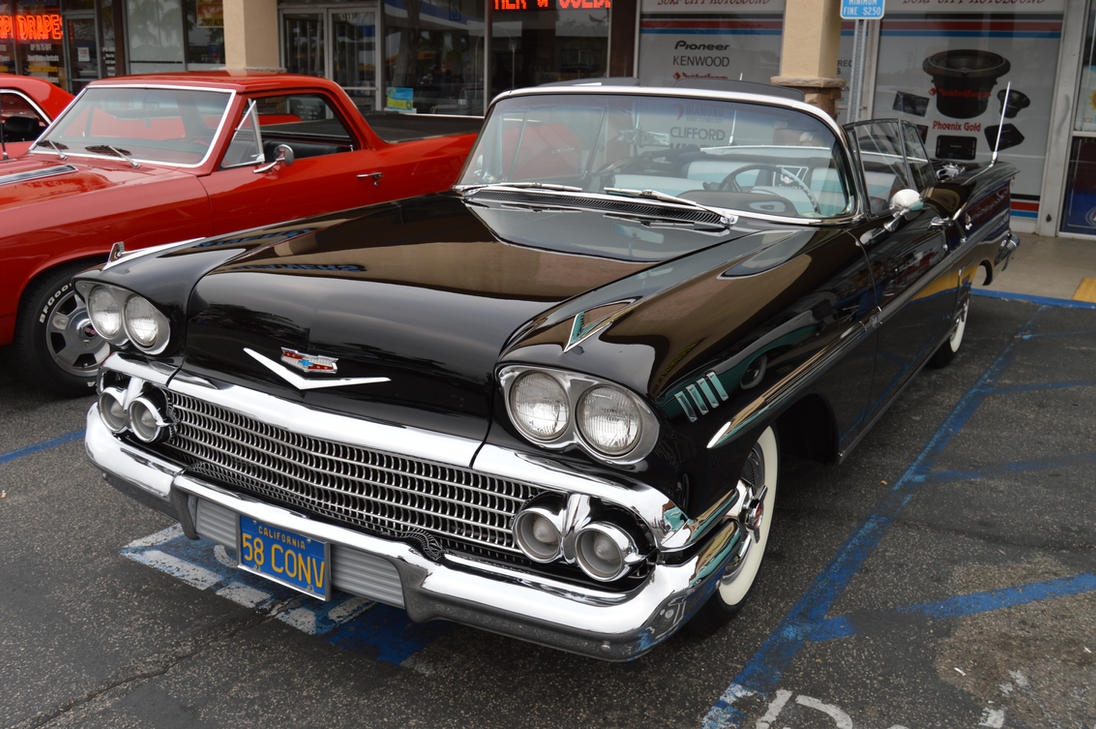 1958 Chevrolet Impala Convertible IX by Brooklyn47