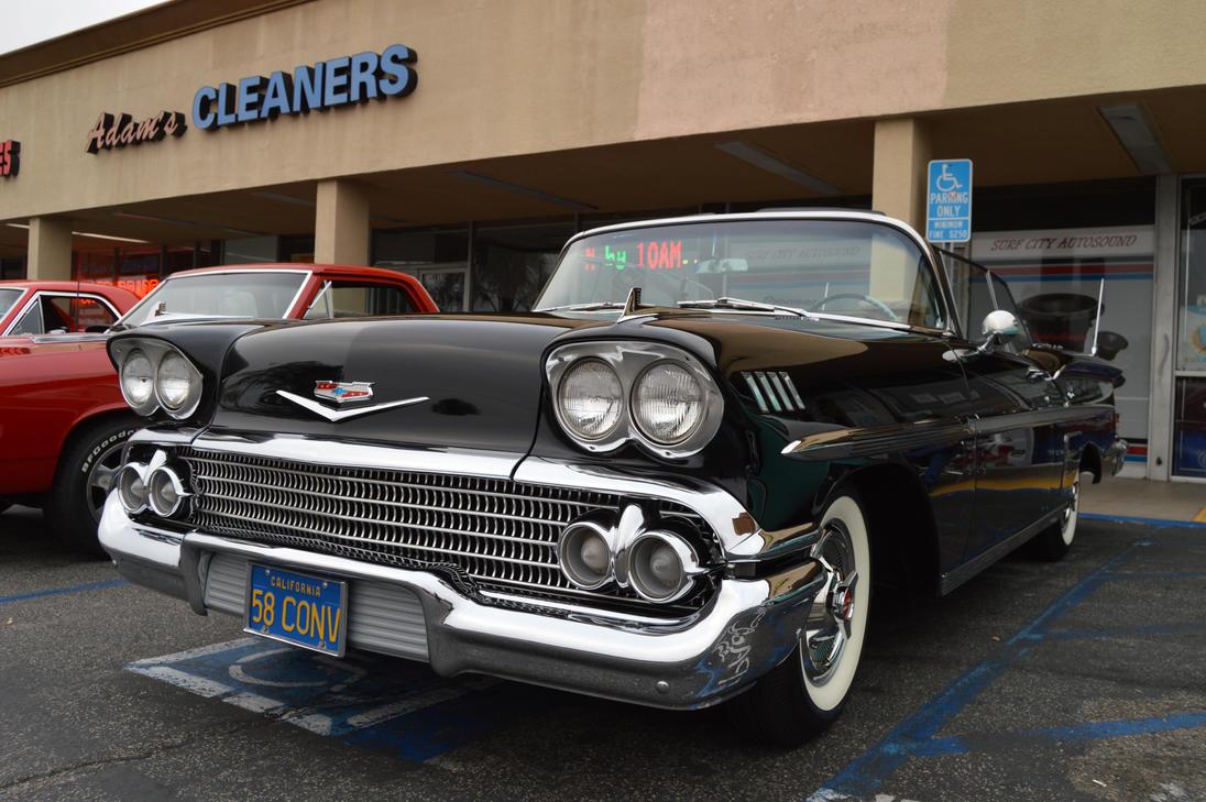 1958 Chevrolet Impala Convertible X by Brooklyn47