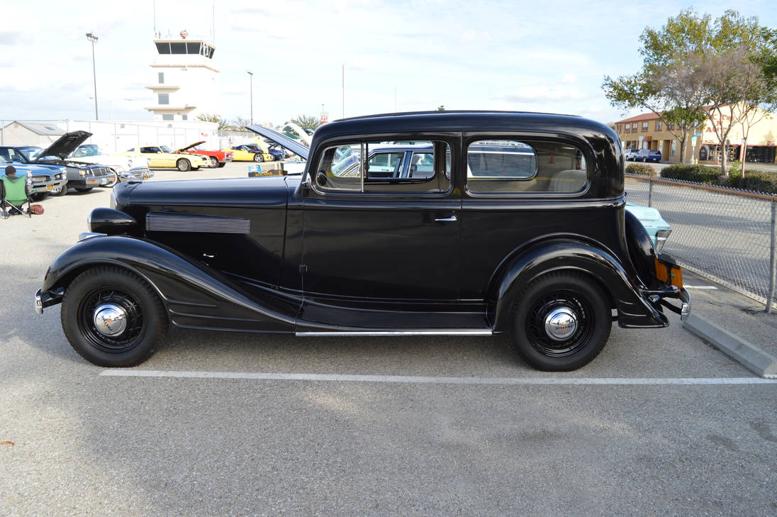1934 Pontiac Model 603 2 Door Sedan V by Brooklyn47 on