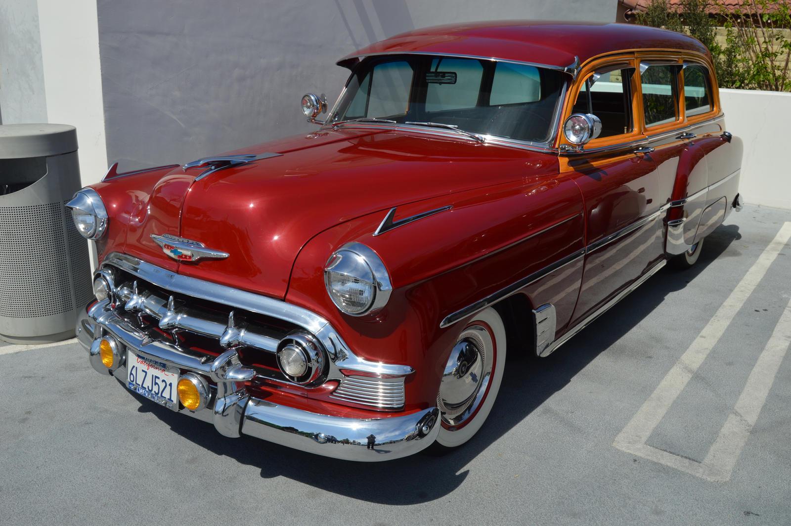 1953 Chevrolet 210 Station Wagon Viii By Brooklyn47 On