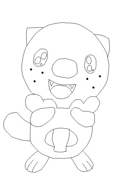 samurott pokemon coloring pages   Pokemon Samurott Coloring Sketch Coloring Page