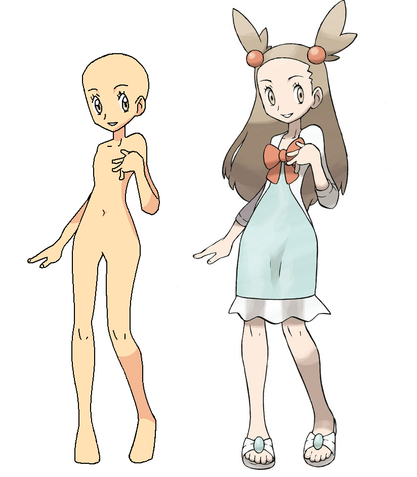 Pokemon girl base excellent