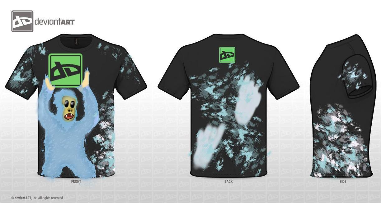 Yeti DeviantWear Logo T-shirt by Jagsrock