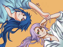 Saint Seiya/Gemini Kanon/Aries Mu -Color-