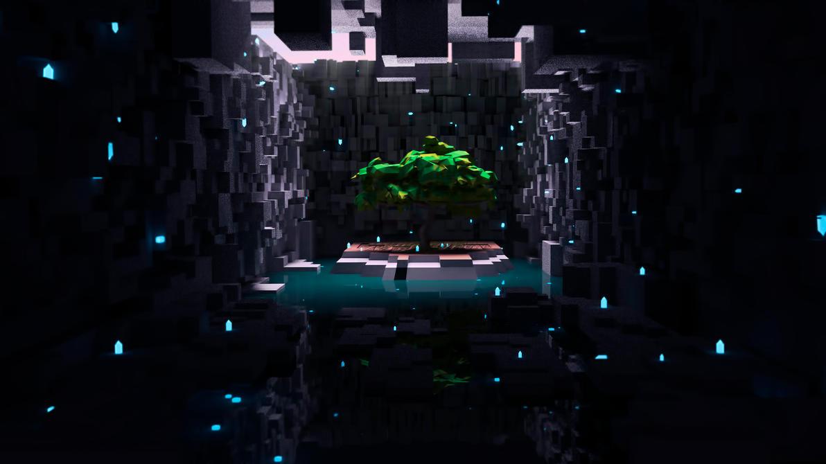 Hidden Oasis | Low Poly by killcanos