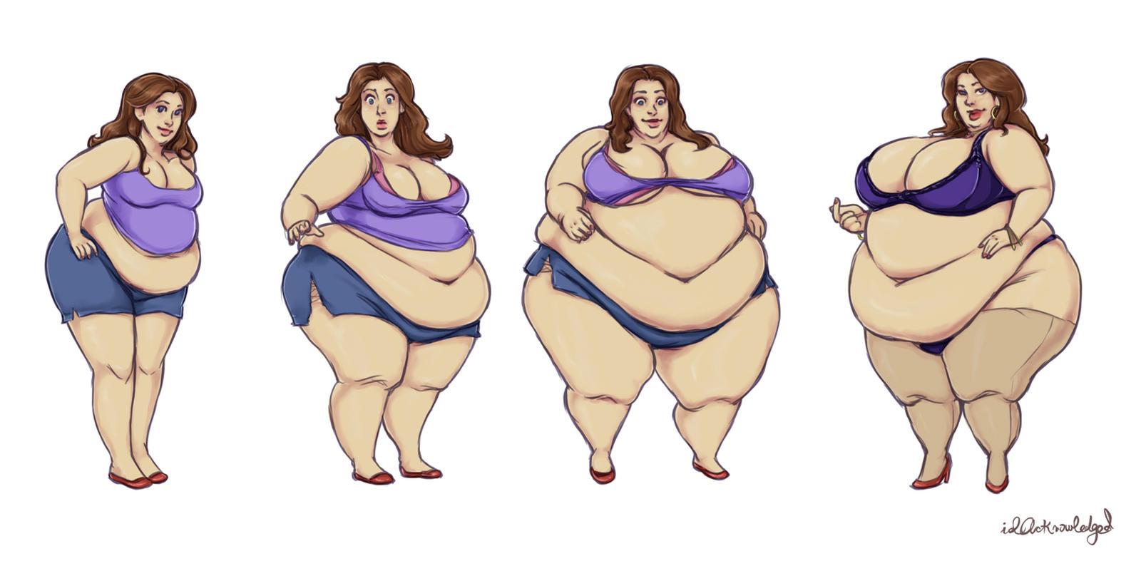 cute girl weight gain