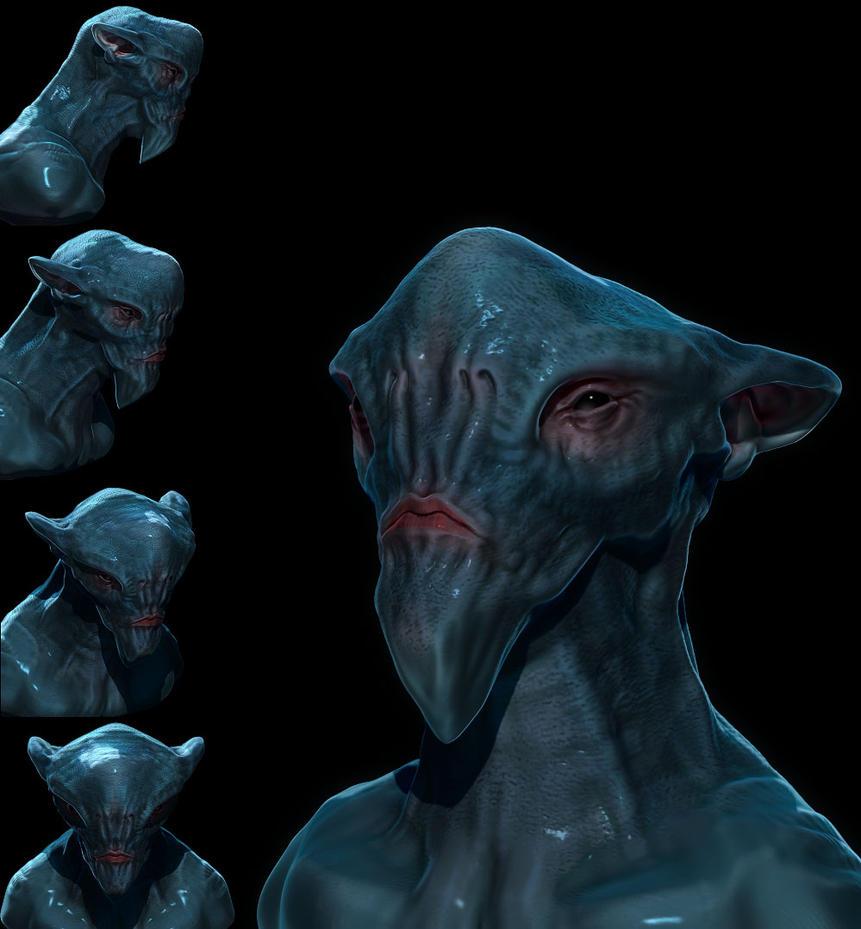 Alien Bust 80