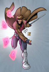 Gambit EVOLUTION 07 COLORED by LucasAckerman