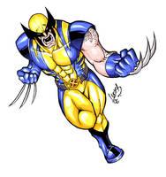 Astonishing Wolverine COLORED by LucasAckerman