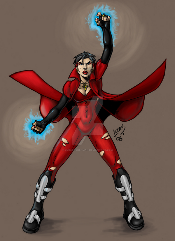 ScarletWitch EVOLUTION COLORED by LucasAckerman