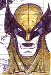 Wolverine DOODLE 09 by LucasAckerman