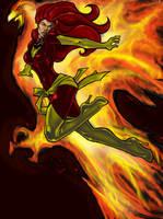 Phoenix COLORED 09 by LucasAckerman