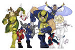 Wolverine and the X-Men COLORD