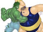 Hulk vs Blob 2010 COLORED