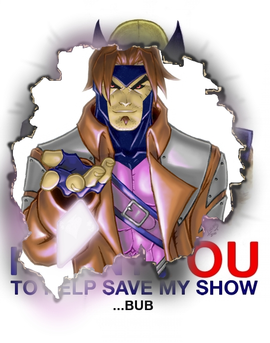 Gambit I WANT YOU 2010 by LucasAckerman