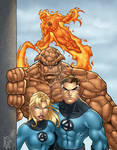 Fantastic Four COLORED