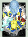 X-Men First Class 2011 COLORED