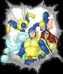 X-Men 1st Class 2011 COLORED