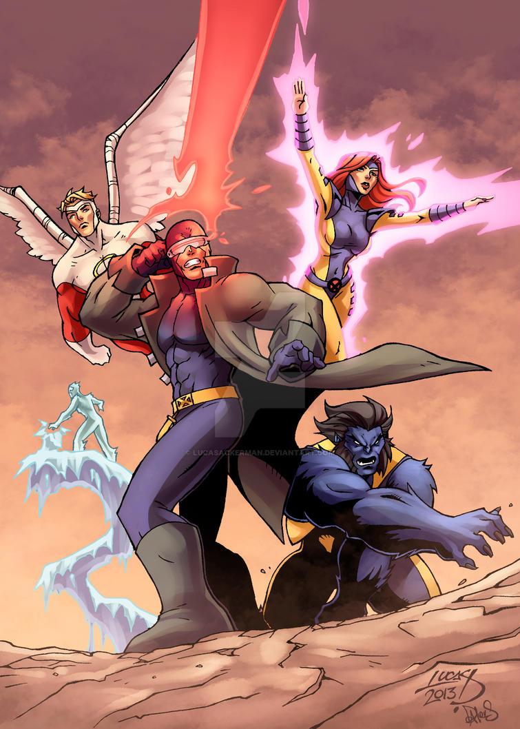 Uncanny X-Men COLORED by LucasAckerman